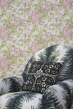 See the latest fantastical Christian Lacroix Maison collection for Designers Guild: Christian Lacroix Maison 2017 fabric and wallpaper. The entire Christian Lacroix Maison collection is now available via a new Australian Designers Guild website, which allows fans of Guild's colourful signature look to buy fabric and wallpaper samples and purchase direct from the brand's recommended Australian retailers.