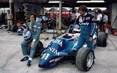 1982 GP Brazylii ( Riccardo Paletti & Jean-Pierre Jarier) Osella FA1C - Ford