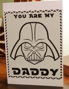 Star Wars, Darth Vader, Funny Valentines Day, Fathers Day Card for Boyfriend, Husband, on Etsy, $5.50