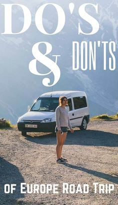 Do's and Don'ts of Europe Road Trip. Advice for how to travel by car in Europe based on personal experience. #Europe | road trip | Europe road trip | Europe by car