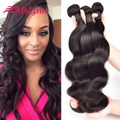 Best Selling Malaysian Virgin Hair Body Wave,Malaysian Body Wave 3 Bundles, 8A Unprocessed Virgin Malaysian Human Hair Bundles http://jadeshair.com/best-selling-malaysian-virgin-hair-body-wavemalaysian-body-wave-3-bundles-8a-unprocessed-virgin-malaysian-human-hair-bundles/ #HairWeaving