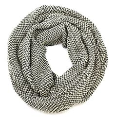 Amazon.com: Viverano Pure Organic Cotton Knit Infinity Scarf, Soft, Eco-Friendly, Non-Toxic (Charcoal): Clothing