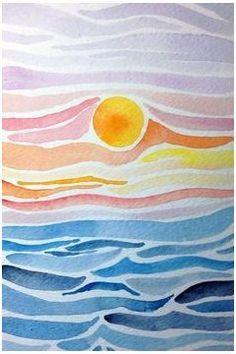 Watercolor Paintings For Beginners, Beginner Painting, Watercolor Ideas, Tattoo Watercolor, Abstract Watercolor, Watercolor Animals, Watercolor Techniques, Watercolor Landscape, Watercolor Background