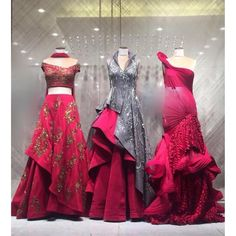 At the launch of 'Scape Song' at today . 476 Milestone Road No. Indian Wedding Gowns, Indian Gowns Dresses, Indian Bridal Wear, Gown Wedding, Formal Dresses, Indian Designer Outfits, Designer Gowns, Indian Outfits, Bridal Lehenga