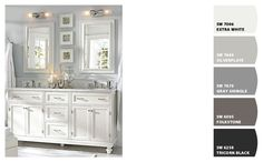 Paint colors from Chip It! by Sherwin-Williams - Owen's room & bath