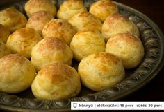 Gougère - habkönnyű sajtfánk