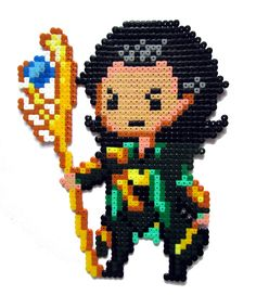 Loki hama perler beads by Aenea-Jones on deviantART