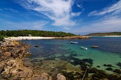 COVEAN BAY, St Agnes, Isles of Scilly, Cornwall, [ENGLAND] #wildbeach. [© Roger Butterfield]
