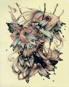 Sketchbook Drawings by Marco Mazzoni