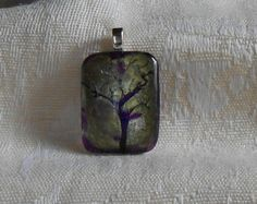 Yes, I did just buy this...Green purple tree pendant by BeautyOffered on Etsy, $12.00