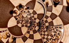 Game Chess Manipulation Psychedelic Trippy Chess Board Wallpaper