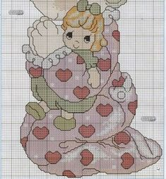 Precious Moments, Cross Stitch Embroidery, Teddy Bear, Kids Rugs, Kitty, In This Moment, Cartoon, Crafts, Animals