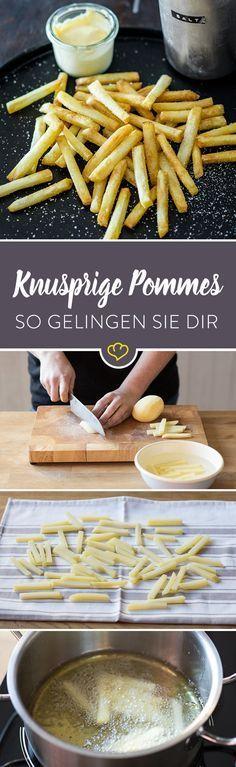 Du willst dir zu Hause richtig gute Pommes machen? Kein Problem. Mit dieser Methode gelingen sie dir besser als in der Imbissbude.