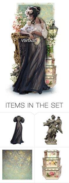 """""""Vintage"""" by necyluv ❤ liked on Polyvore featuring art and vintage"""