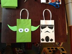 Star Wars party bags - Star Wars Mitgebsel Tüten