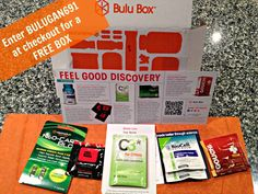 Get a FREE Bulu box full of weightloss products OR vitamins and supplements with code BULUGAN691 at checkout.