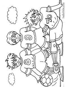 48 Best Soccer Coloring Pages images | Coloring pages ...