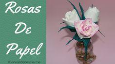 Cómo hacer rosas de papel. ¡Es muy fácil!