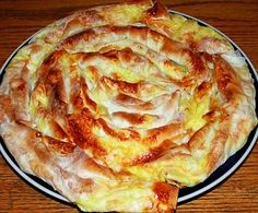 Burek Recipe - Banitsa With Feta Cheese _ Bulgarian Recipe