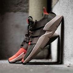 adidas boldest and bulkiest sneakers are back! Get the PROPHERE now on KICKZ com and in selected stores! is part of Shoes sneakers adidas - Adidas Originals, Me Too Shoes, Men's Shoes, Shoes Sneakers, Retro Sneakers, Louboutin Shoes, Buy Shoes, Leather Sneakers, Nike Tennis
