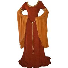 Thalia's medieval dress reference picture #1. I quite like this one, and its colour, but really, any old medieval dress will do! As long as it's medieval. And a dress.