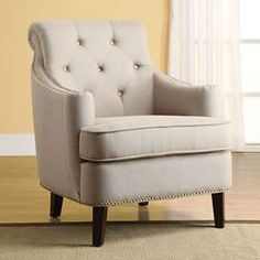 Linon Diamond Back Accent Chair - Kohls.com ($389)