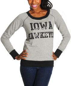 Loving this Iowa Hawkeyes Sparkle Pullover Sweater - Women on #zulily! #zulilyfinds