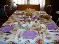 Tea Time with Mom's Royal Albert Old Country Rose China!