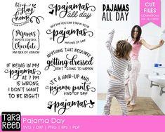 Pajama Day svg / Pajama svg / Pajama svg bundle / Pajamas all day svg / svg files / svg for cricut / svg for silhouette / svg bundle
