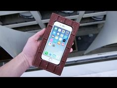 Can a Chocolate Bar Protect an iPhone from 100 FT Drop Test? New Iphone, Iphone Se, Foot Drop, Duct Tape, Party Planning, The 100, Canning, Youtube, Fun