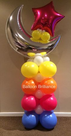 """""""Fly me to the moon"""" #partyballoons #sendballoonscanberra #balloondelivery…"""