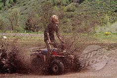Love quads...and mud.