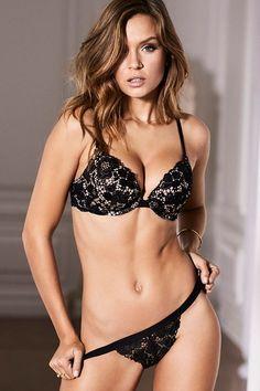 5193f3b40e8 Josephine Skriver poses for Victoria s Secret Valentine s Day 2017  collection.  victoriassecret  lingerie