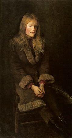 Andrew Wyeth - 'Sheepskin' 1973, tempera on panel