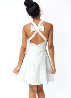 bow back dress $36.90