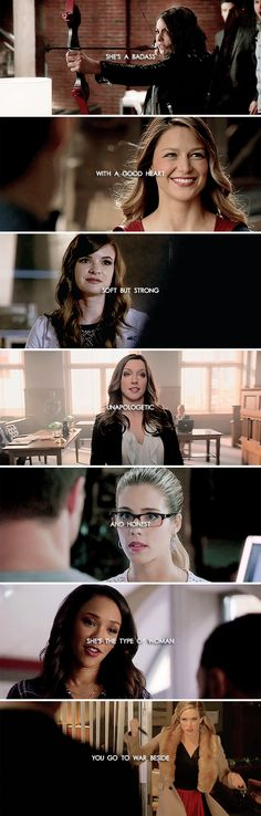 A girl's gotta be her own hero every now and again. #arrow #theflash #lot
