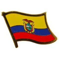 "Ecuador Flag Pin 1"" by FindingKing. $8.50. This is a new Ecuador Flag Pin 1"""