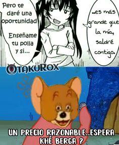 En tiempos de guerra cualquier hoyo es trinchera.... :v   Kurox . anime meme en español