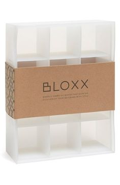 The Original WHISKEY BALL 'Bloxx' Jumbo Ice Tray available at #Nordstrom  This smart silicone ice tray makes bigger cubes that not only look better in your glass, but also melt more slowly, keeping your drink stronger for longer.