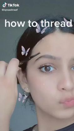 how to do your brows at home - Lip Care Routine & Lip Care Diy 2020 Beauty Tips For Glowing Skin, Clear Skin Tips, Health And Beauty Tips, Beauty Skin, Beauty Care Routine, Beauty Hacks, Skincare Routine, Threading Eyebrows, How To Thread Eyebrows