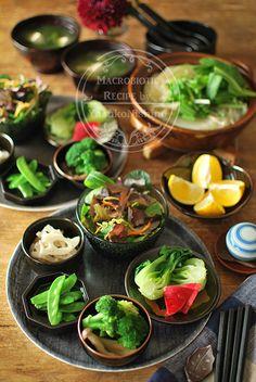 鍋ランチセット。 の画像 西野椰季子のマクロビオティックレシピ