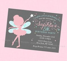 61 Best Fairy Invitations Images Fee Clochette Disney Fairies Elves