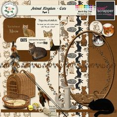 The Magnolia Patch: March Blog Train at Pixel Scrapper -Cats. *