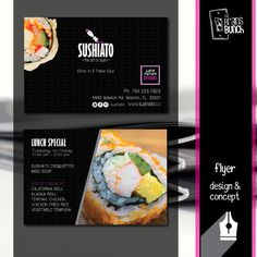 A great flyer design can do wonders to help promote an event. This flyer for @sushiato is an example of that. | Un buen diseño de flyer puede hacer maravillas y ayudarte a promover un evento. Este flyer de @sushiato es un ejemplo de ello. #WeTurnYourBrandOn #goodbunch #brainsbunch #diseño #design #brand #print #printing #flyer #concept