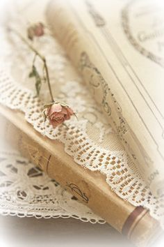 Maybe you know me from Vintage Rose Brocante or A Creative. Photos Amoureux, Edith Holden, Book Letters, Deco Floral, Nerd, Old Books, Antique Books, Antique Lace, Rose Cottage