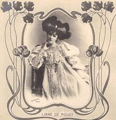 Notorious Belle Epoque Artiste and Courtesan Liane De Pougy by Leopold Reutlinger, circa 1900