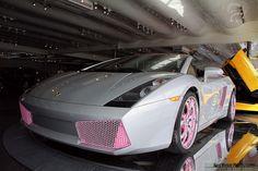 Pink Lamborghini! :)