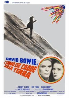 With David Bowie, Rip Torn, Candy Clark, Buck Henry. Earth Poster, Moonage Daydream, Hooray For Hollywood, Movie Poster Art, Rock Legends, Sci Fi Movies, Advertising Poster, Concert Posters, David Bowie