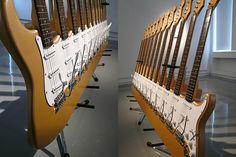 12 necked guitar by Yoshihiko Satoh