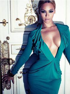 Beyoncé Knowles in Harper's Bazaar UK.